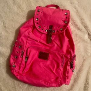 🌸 VS Pink studded backpack